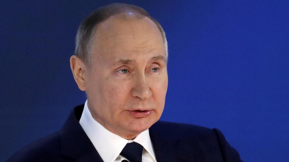 Le président Vladimir Poutine