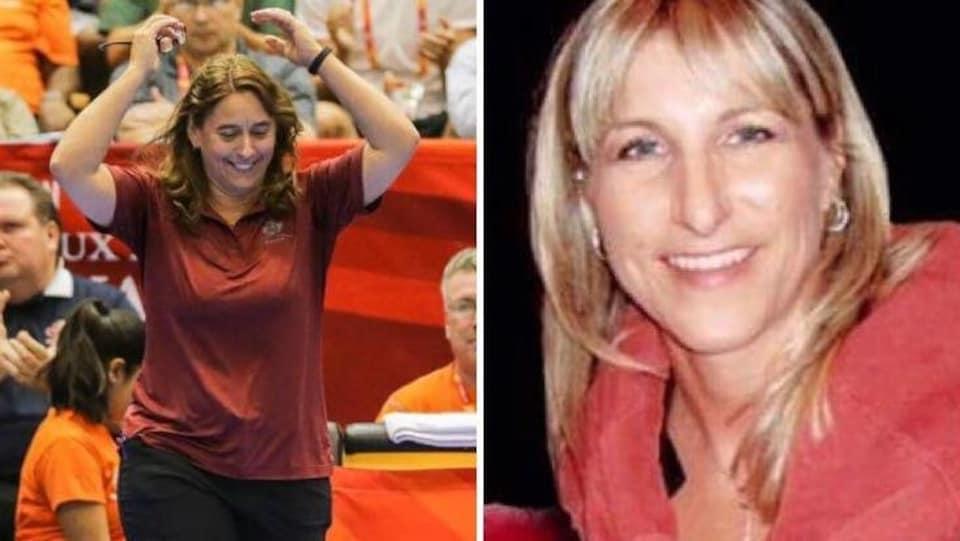 Monette Boudreau-Caroll et Brigitte Soucy-Anderson, deux Acadiennes, seront intronisées au Temple de la renommée du Volleyball du Nouveau-Brunswick.