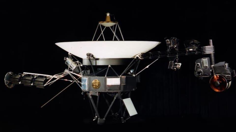 Illustration de la sonde Voyager