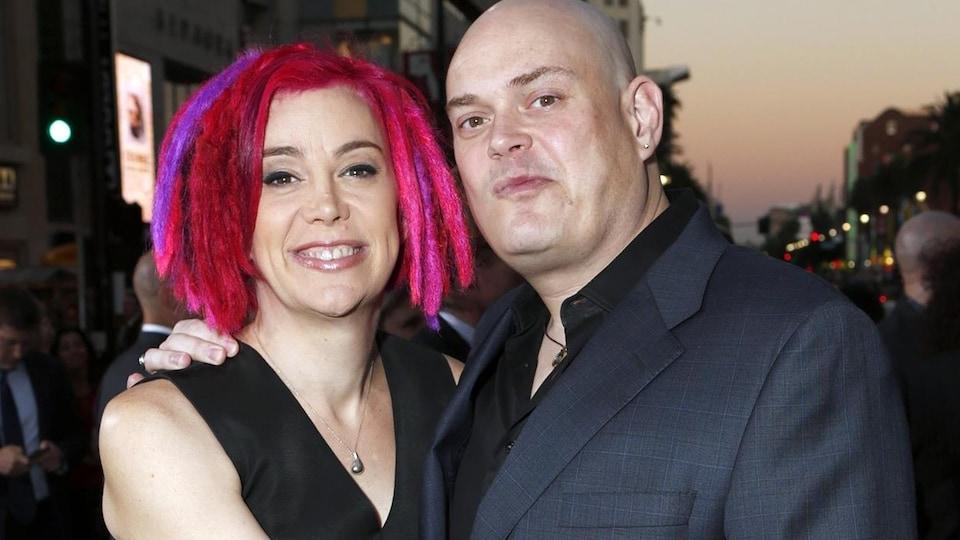 Lana et Andy (Lilly) Wachowski en 2012