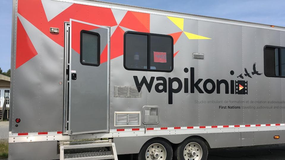 Le studio sur roues de Wapikoni mobile