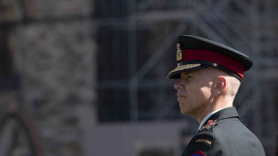 Le lieutenant-général Wayne Eyre à Ottawa en 2019.