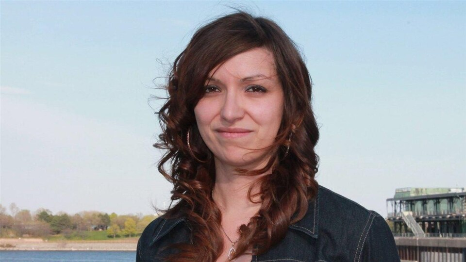 Widia Larivière, cofondatrice de la section québécoise du mouvement Idle No More
