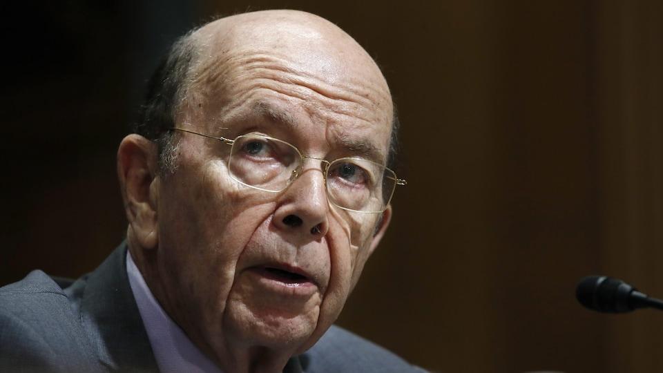 Le secrétaire américain au Commerce, Wilbur Ross