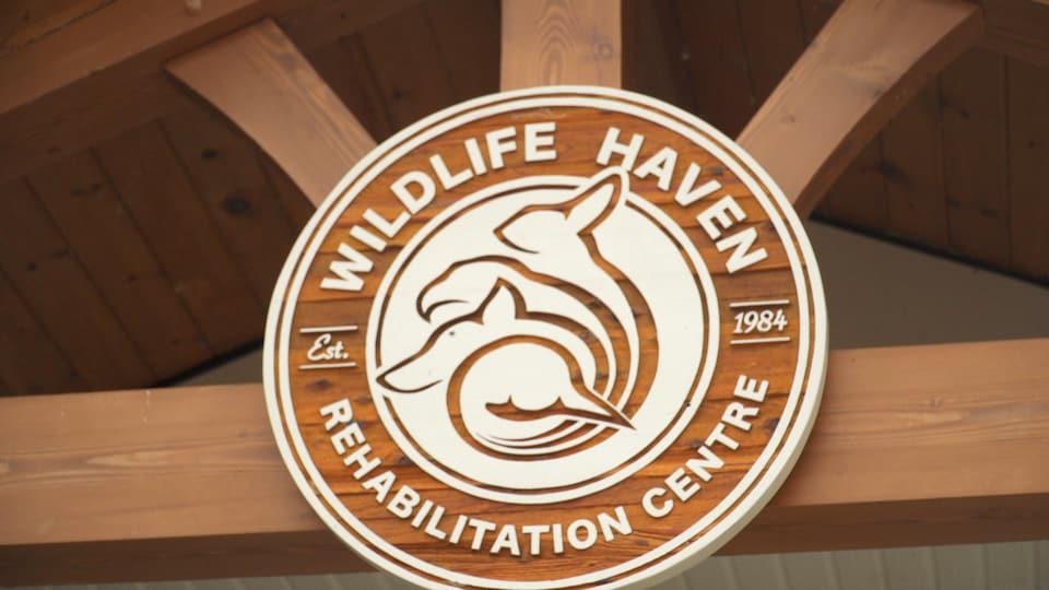 L'enseigne de Wildlife Haven pris en photo le 4 août 2021.