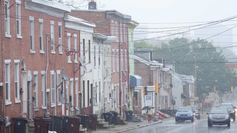 Une rue de Wilmington, dans le Delaware.