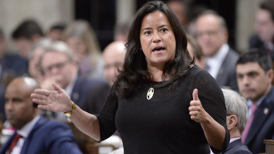 La ministre fédérale de la Justice, Jody Wilson-Raybould