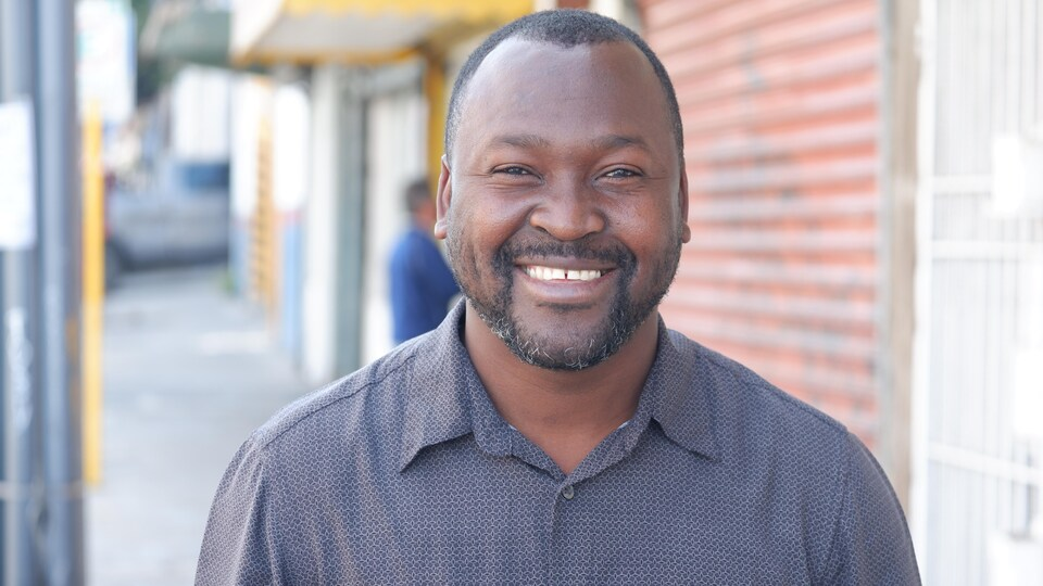 Wisly Désir, un ressortissant haïtien, installé à Tijuana.