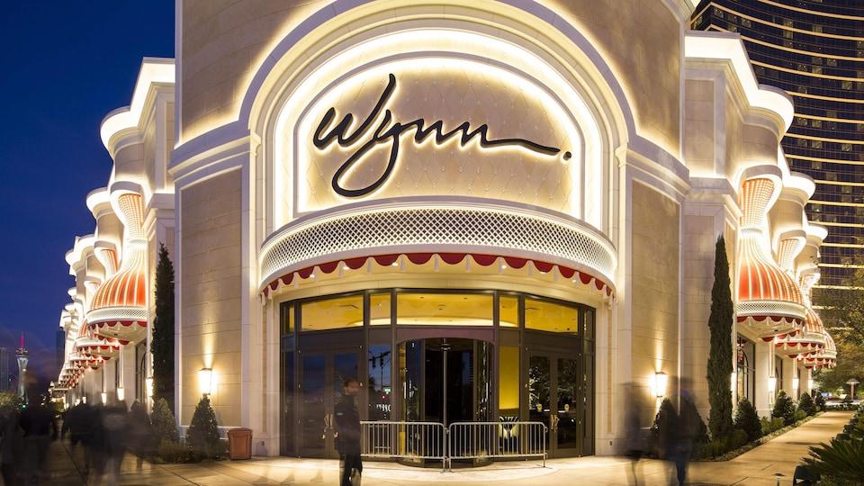 Le casino Wynn à Las Vegas