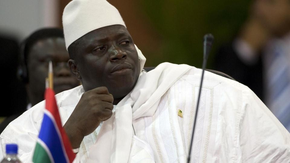 Yahya Jammeh dirige la Gambie depuis le coup d'État de 1994.