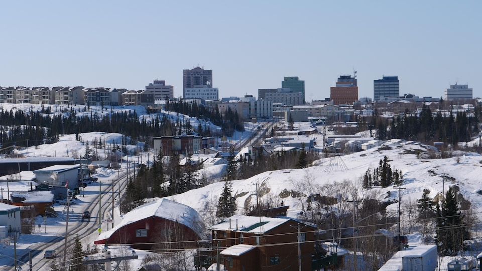 La ville de Yellowknife