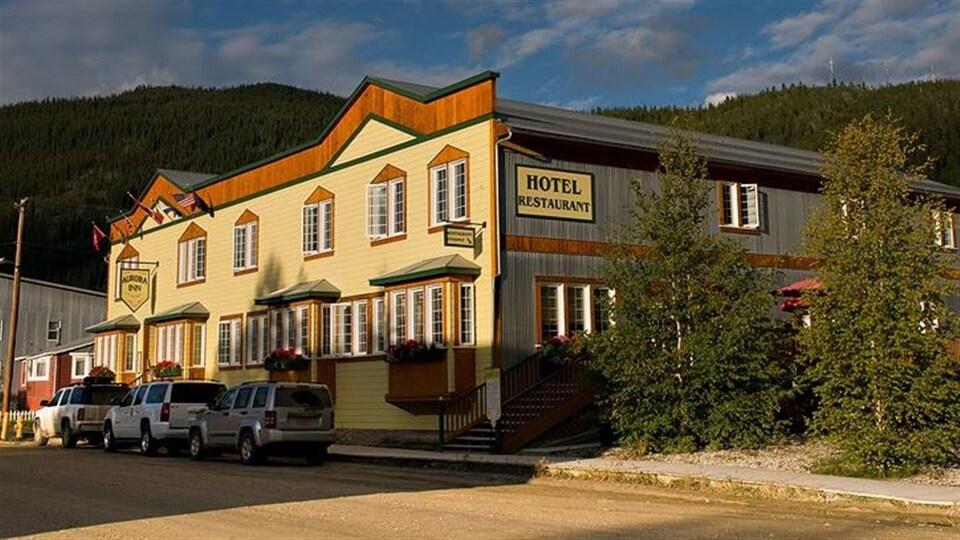 Façade du Aurora Inn