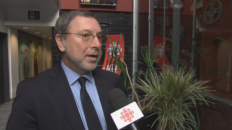 Le PDG du Conseil du patronat du Québec, Yves-Thomas Dorval
