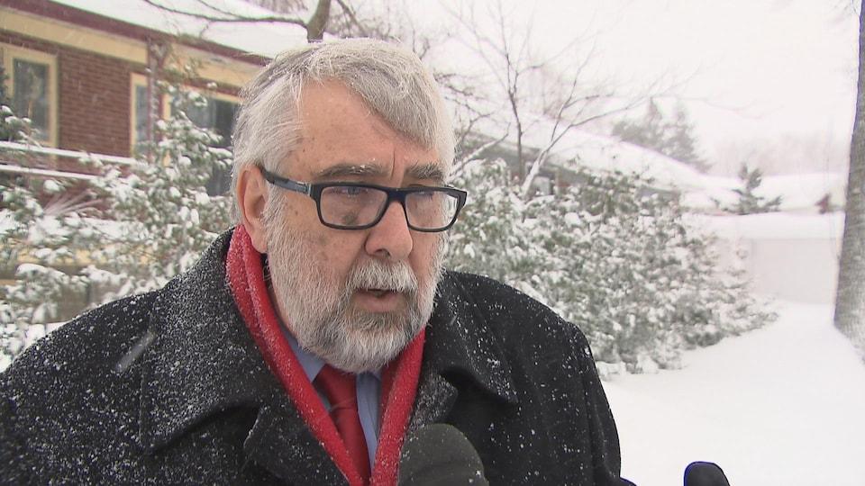 Yvon Bussières, conseiller municipal indépendant du district Montcalm-Saint-Sacrement