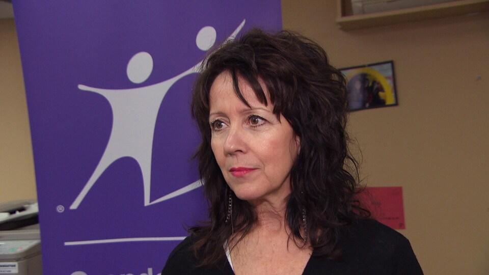 La directrice générale des Grands frères grandes soeurs de l'Outaouais, Yvonne Dubé.