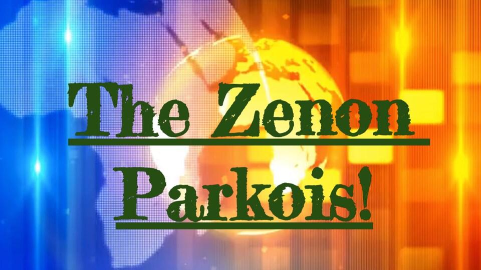 Un écran de nouvelle avec The Zenon Parkois d'écrit.