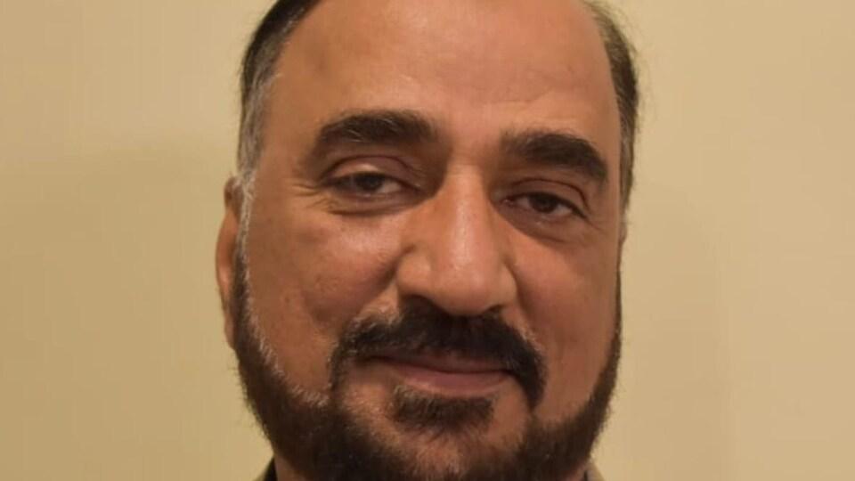 Portrait de Zubair Sheikh.