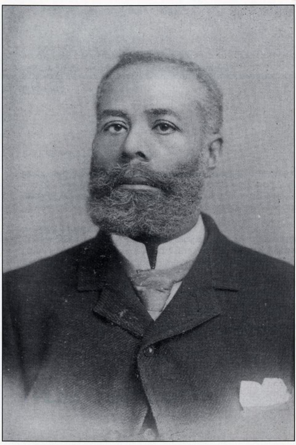 Un homme sur une ancienne photo