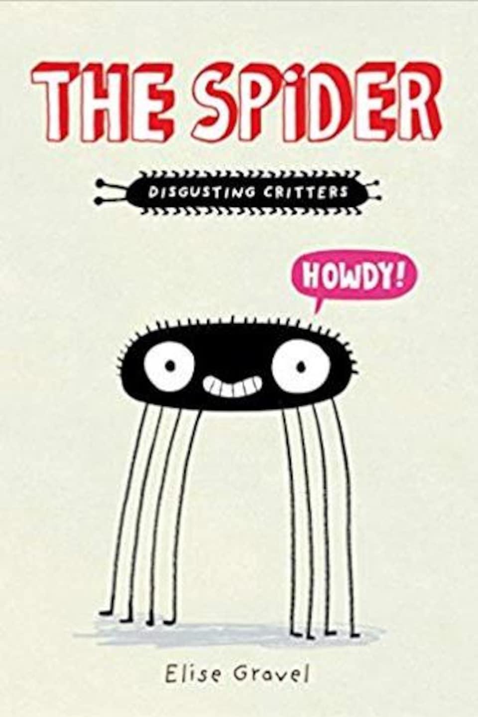 On voit une araignée.