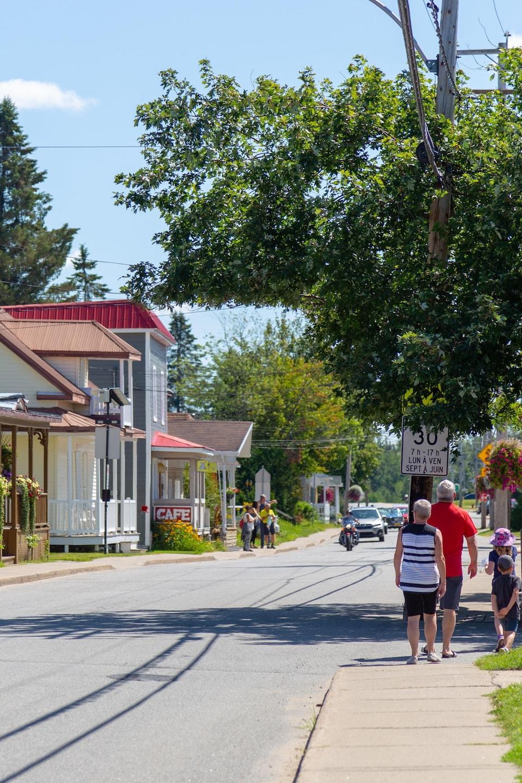 Le village de Saint-Élie-de-Caxton