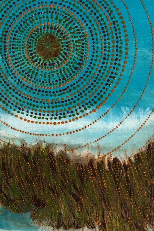 Peinture avec des points créer par France Adams