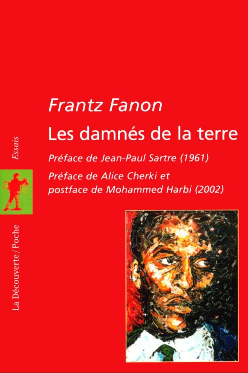 La page couverture du livre rouge, avec un dessin de l'auteur.