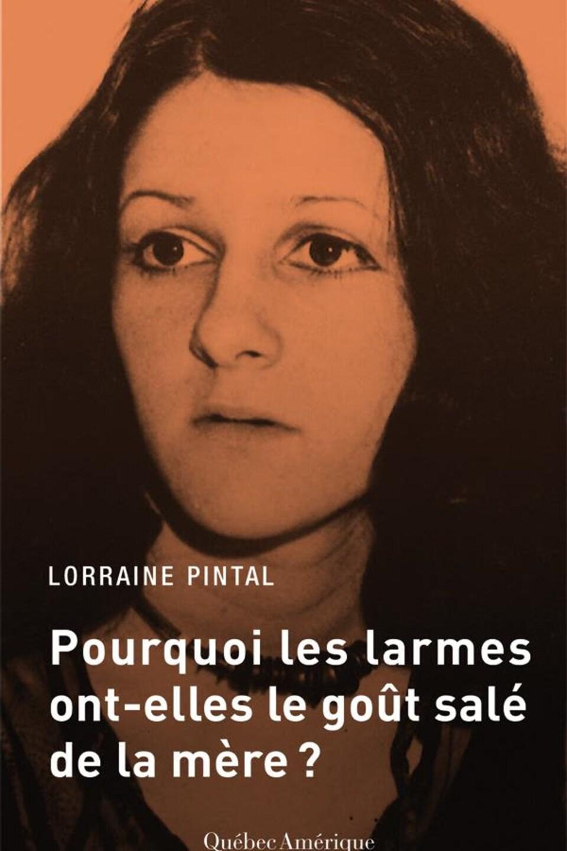 Couverture de livre montrant Lorraine Pintal quand elle était jeune