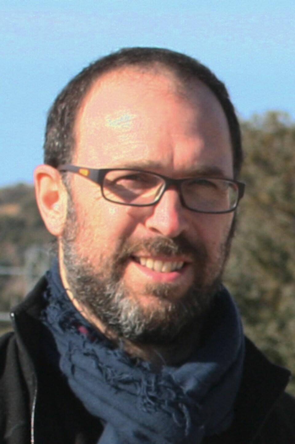 Martin Aubé, professeur et chercheur au Cégep de Sherbrooke.