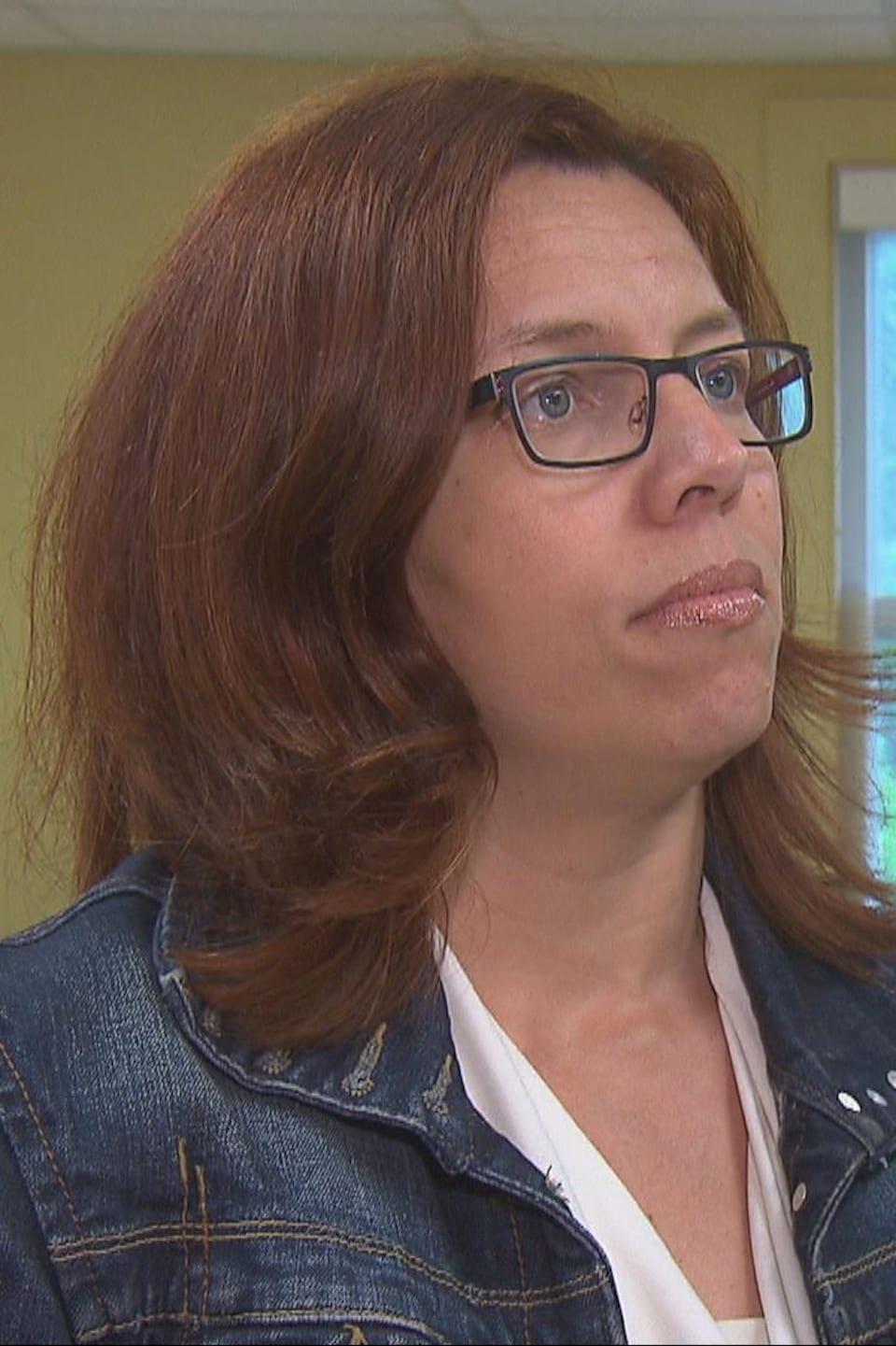 Nathalie Schoos, directrice des soins infirmiers au CIUSSS de l'Estrie-CHUS.