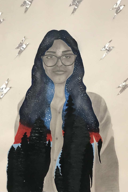 Oeuvre de Khadijah Bajwa