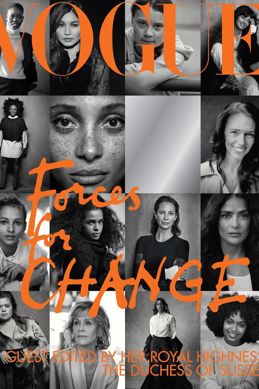 La couverture en noir et blanc présente plusieurs photos de femmes.