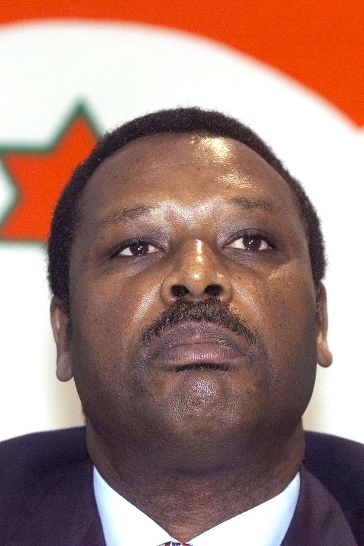Portrait de Pierre Buyoya.