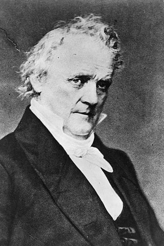 Portrait de James Buchanan.