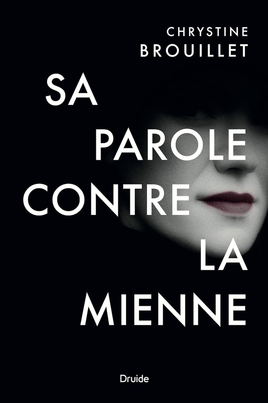 Couverture d'un livre montrant le bas d'un visage de femme.
