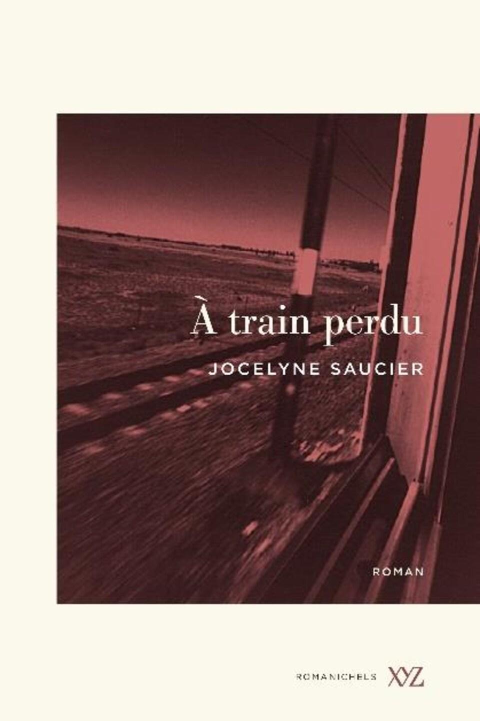 Couverture de livre qui montre la vue depuis la fenêtre d'un train.