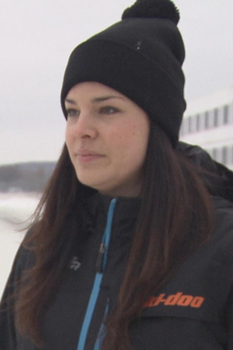 Véronique Lizotte, directrice générale du Grand Prix de Valcourt