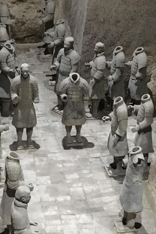 L'armée de terre cuite, à Xi'an, en Chine
