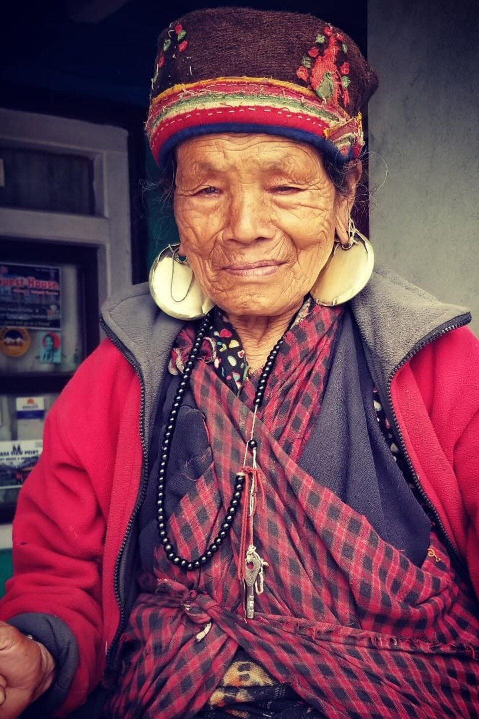 Une Népalaise