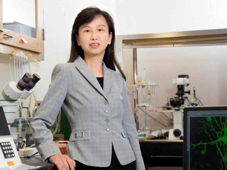 La chercheuse Zhen Yan.