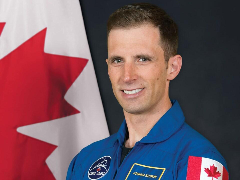 L'astronaute Joshua Kutryk.