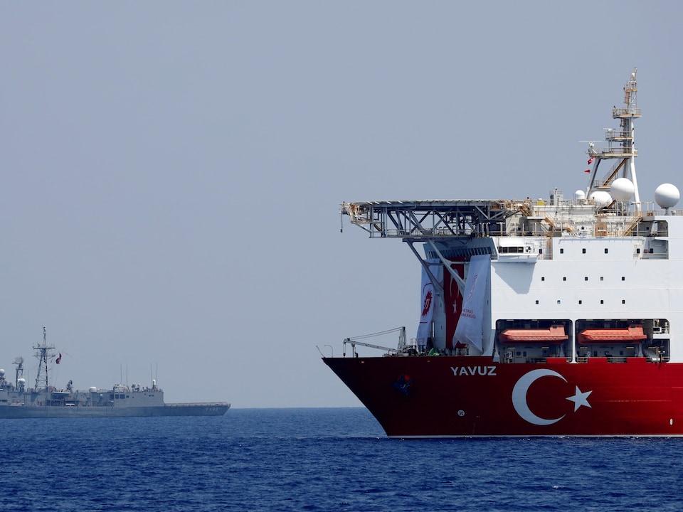 Un navire pétrolier turc.