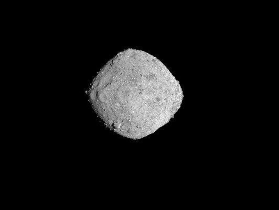 L'astéroïde Bennu.