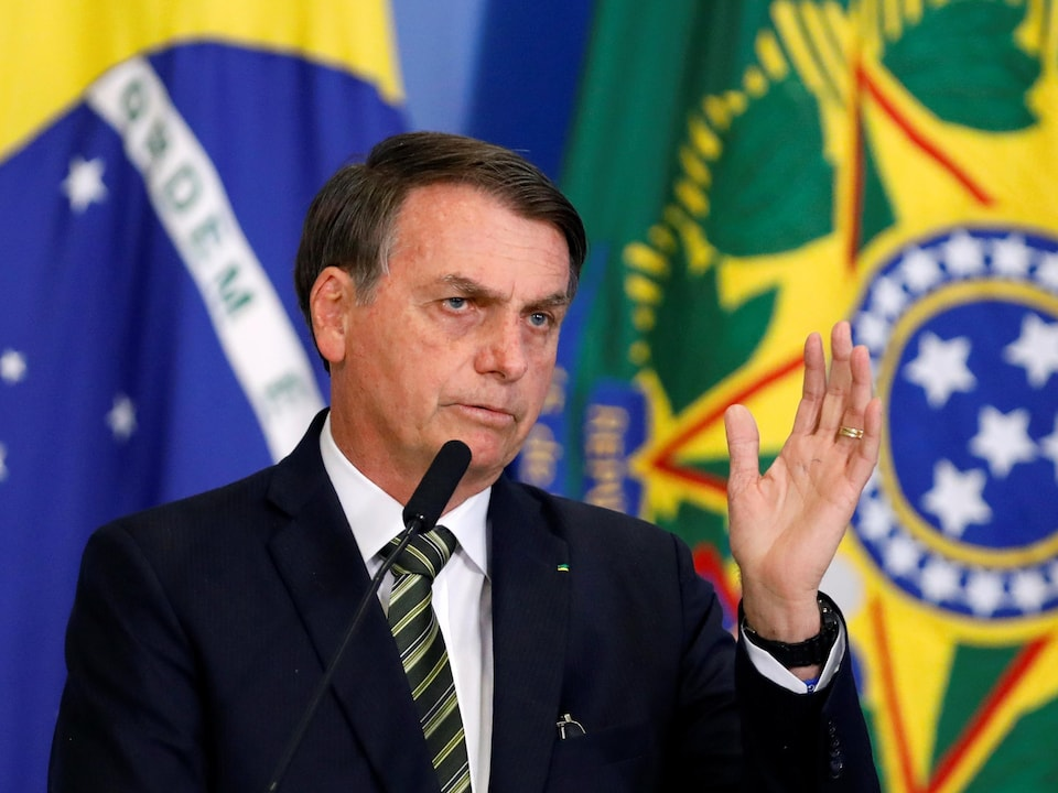 Le président du Brésil, Jair Bolsonaro.