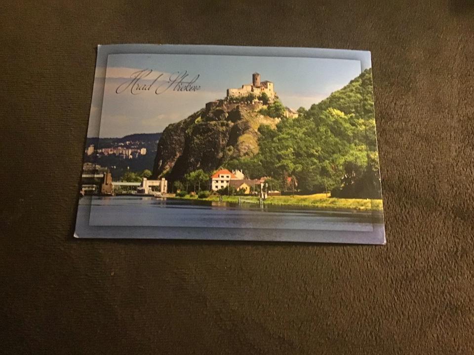 Une carte avec un château.