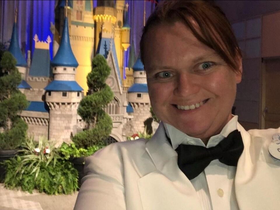Charissa Ward-Spencer a travaillé pendant 15 ans dans un restaurant de Disney.