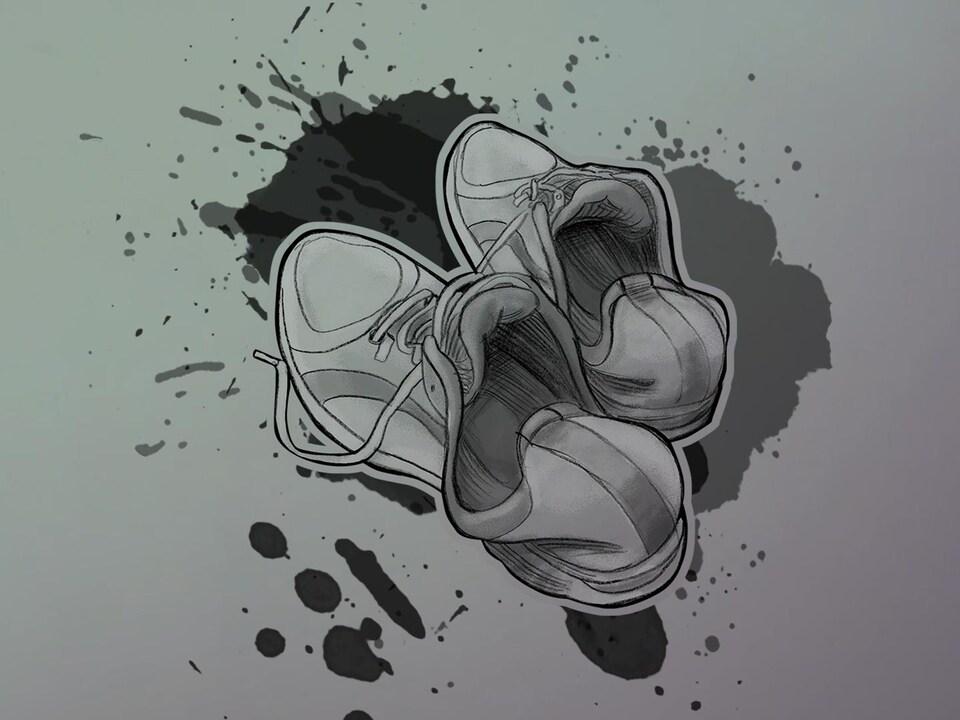 Illustration d'espadrilles