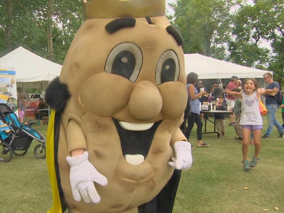 Festival de la pomme de terre à Portage-la-Prairire, au Manitoba, août 2019