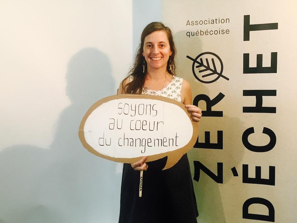 Cynthia Bouchard-Gosselin, membre du comité organisateur du Festival Zéro déchet de Montréal