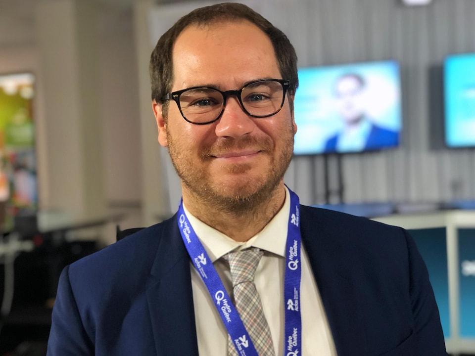 Jérôme Dupras, professeur d'économie écologique à l'université du Québec en Outaouais