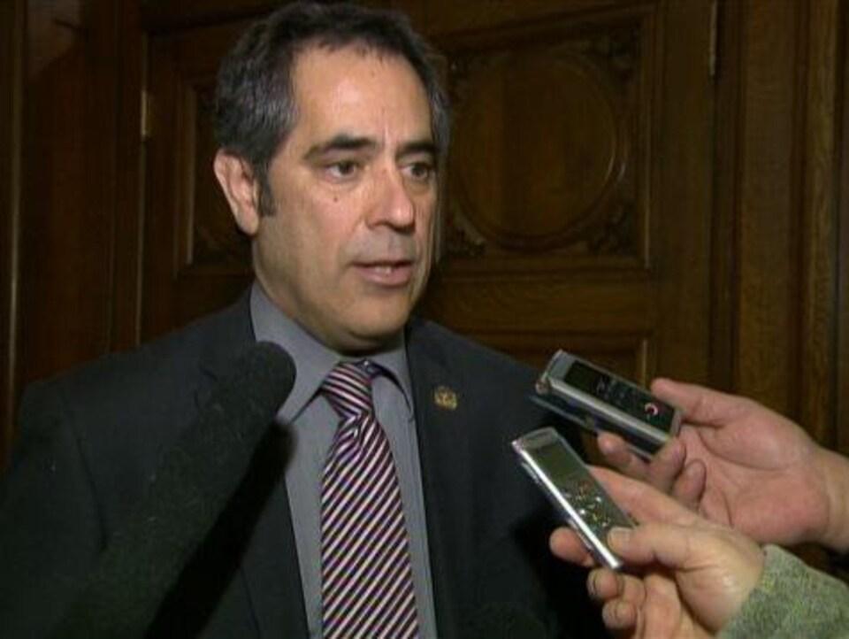L'ex-bâtonnier du Québec Gilles Ouimet est membre du comité de suivi des recommandations de la commission Charbonneau.